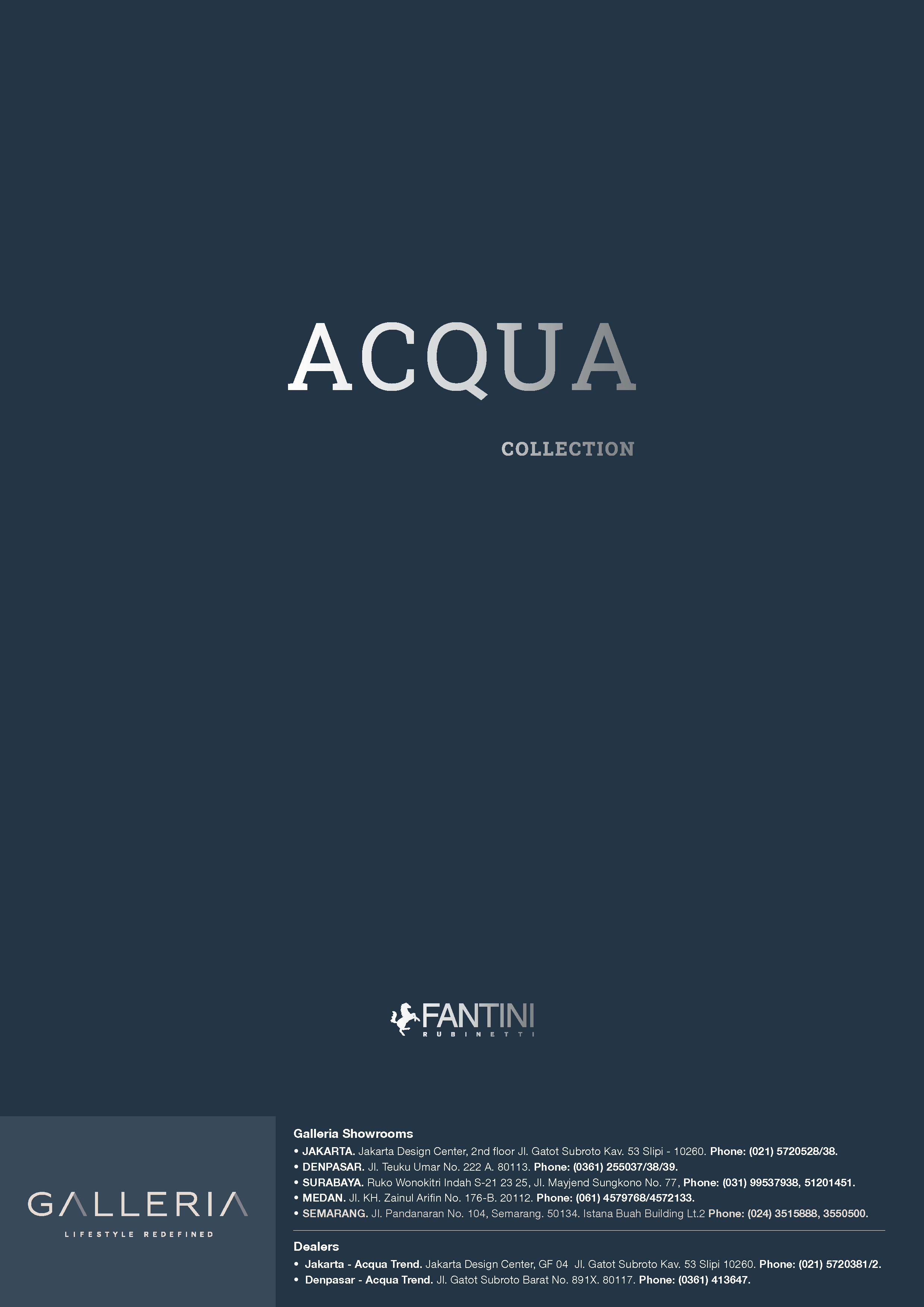Fantini Acqua Collection